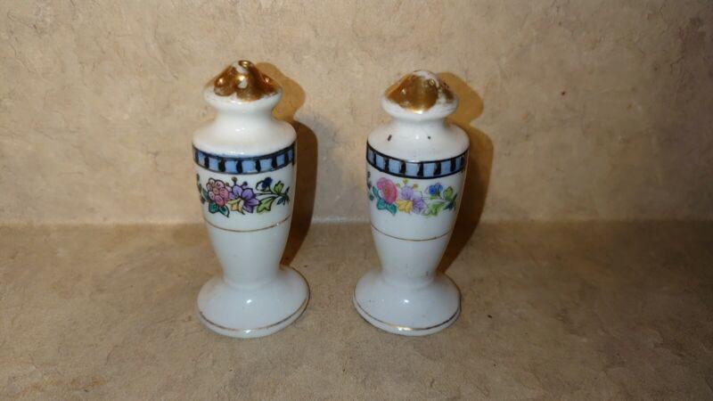 Antique Sheridan Art Deco Salt and Pepper Shakers
