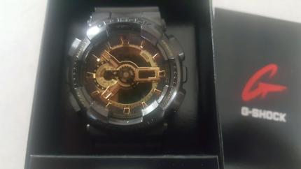 G-Shock Watch Black/Gold