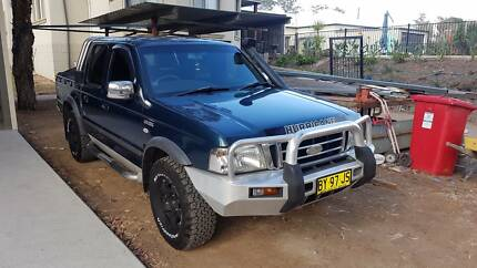 Ford Courier 4x4 harricane