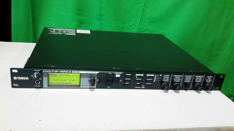 YAMAHA Motif Rack XS Tone Generator Synthesizer Motif-Rack w/ Power Adapter