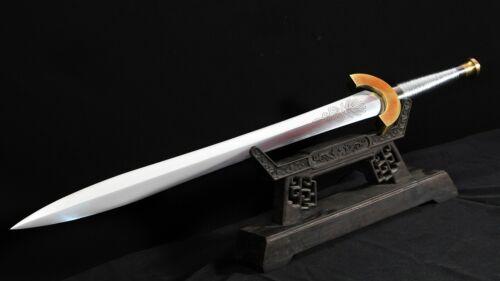 European Sword Clash of the Titans Handmade Battle Ready Full Tang Heavy Cutting