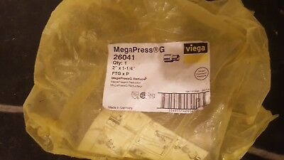 Viega 26041 2 Ftg X 1-14 Press Megapressg Fitting Reducer