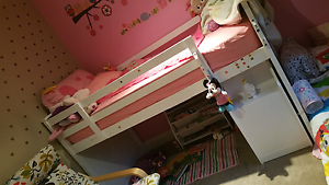 Beautiful king single loft bed Pascoe Vale Moreland Area Preview