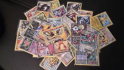 50x Pokemonkarten versch. Edit. / deutsch / TOP-Zustand / inkl. Stern-Glitzer