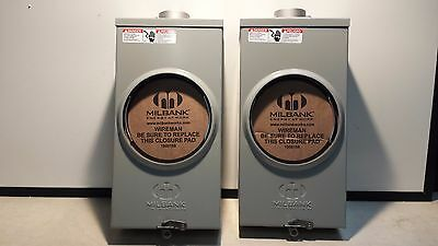 New Milbank 7021 Meter Socket Type 3r Enclosure 200 Amp 4t U-200 3r 600 Vac