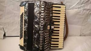 piano accordion 80 bass baile Italian design navy grey Epping Whittlesea Area Preview