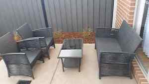 Outdoor setting furniture, 4 piece including the cushions to sit Craigieburn Hume Area Preview