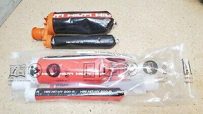 1 - Hilti Hit - Hy 200-r Injectable Epoxy - Expires On 122020 Bonus Hy 70