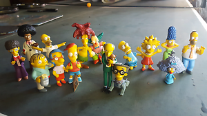 MAKE AN OFFER Simpsons collectables - 2 bundles and tin Magill Campbelltown Area Preview