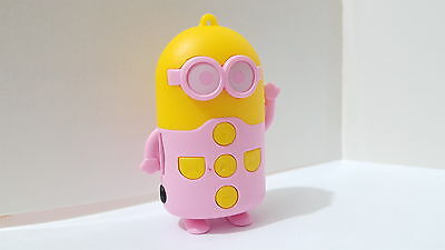 Cuty Despicable MP3 player with bundled accessories,fantastic sound- Pink