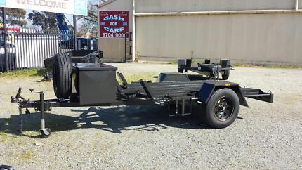 7X4 MX MOTORBIKE TRAILER WITH LOCKABLE STORAGE BOX Narre Warren Casey Area Preview