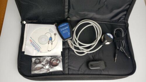 Cardionics E-Scope Amplified Electronic Stethscope 718-7710 Belt Model