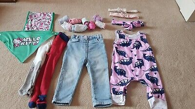Baby Girl's 6-9 Months Clothes Bundle