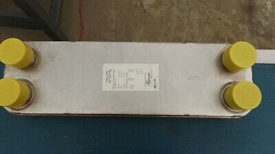 25 Sq. Ft. Stainless Steel Alfa Laval Plate Type Heat Exchanger