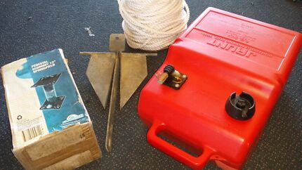 BOATING FISHING GEAR FUEL TANK ANCHOR ROPE ROLLERS Caloundra Caloundra Area Preview
