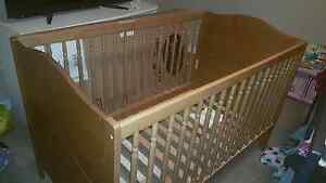 Solid Wood IKEA crib for sale. $80.