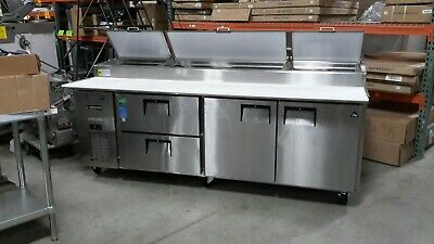 Used 93 Everest Eppr3-d2 Refrigerated Pizza Prep Table