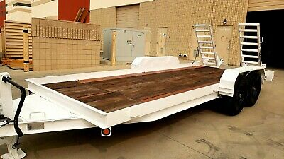 2014 Icon Flatbed Heavy Equipment Trailer