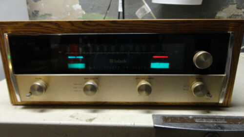 McIntosh MR71 Tube Tuner 1 owner with paper work, without  (Cabinet)