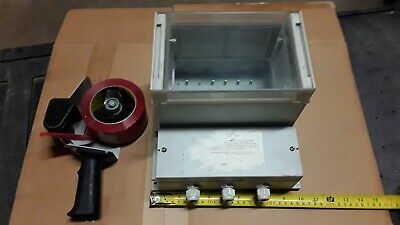 Instrument Enclosure Clear Cover Instrumentation Box Electrical Project Box