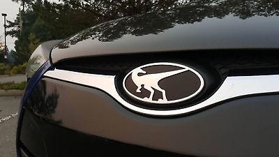 Raptor Front Emblem for Hyundai Veloster  Veloster Turbo 2012 2017 Chrome