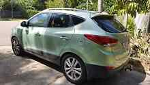 Hyundai ix35 2.0L sports turbo diesel 2012 The Narrows Darwin City Preview