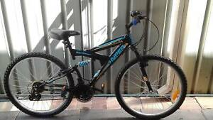HYPER STEED DUAL SUSP MOUNTAIN BIKE ( NO EMAILS OR OFFERS )