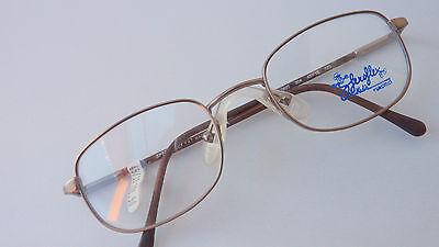Brille Brillenfassung für Jungen braun Kinder Federbügel Sattelsteg Neu size K