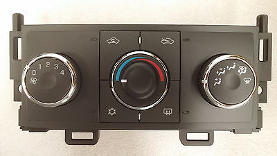 Pontiac G6 manual heat and AC air climate control unit. Brand new!!
