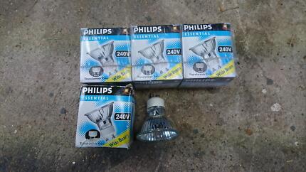 Halogen Globes GU10 Phillips 50W