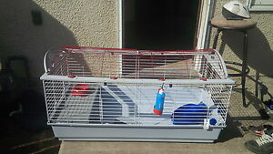 big rabbit cage for sale with all ecessories