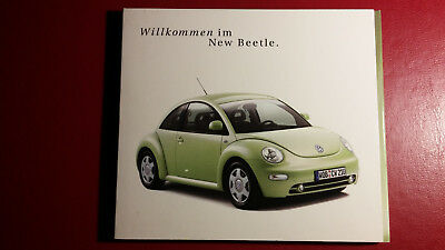 Willkommen im New Beetle VW Werbe CD-ROM