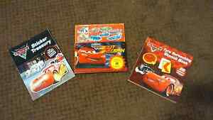 3 'Cars'/Lightning McQueen Interactive books Adamstown Newcastle Area Preview