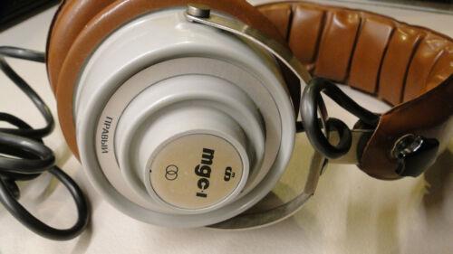 Vintage Soviet Russian USSR Stereo Headphones TDS-1 Retro