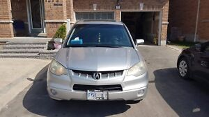 2008 Silver Acura RDX with tech pkg