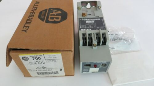 A-B ALLEN BRADLEY SOLID STATE TIMING RELAY 700-RT00N000A1 TYPE RT