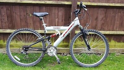 "Men's Ladies Unisex Raleigh Max Full Suspension Mountain Bike 26"" Wheels"
