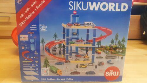SIKU Parkhaus + Auto