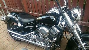 Yamaha xvs650 full custom bike heaps spent on it Calamvale Brisbane South West Preview
