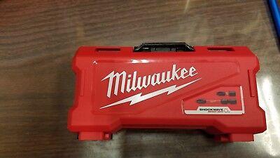 #3 Milwaukee Shockwave Impact Drill Driver Set Empty Box  CASE  bonus 8 racks  ()