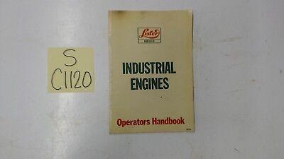 Lister Diesel Industrial Engine Operators Handbook