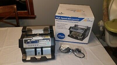 Royal Sovereign High Speed Bill Counter With Uv Rbc-3100 Tested