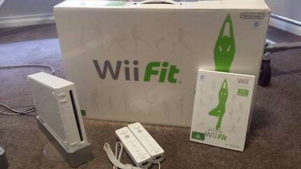 Nintendo Wii, Wii Fit and Supermario Smash Brothers Bedford Bayswater Area Preview