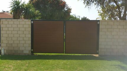 HALF PRICE FENCING & GATES - ALUMINIUM - COLORBOND Yangebup Cockburn Area Preview