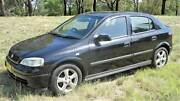 2004 Holden Astra TS CDX Black Automatic 4sp A Sedan Chisholm Tuggeranong Preview