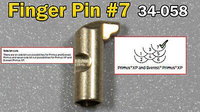 Schlage Primus Finger Pin 7 No. 34-058 Locksmith Locksport Replacement X1