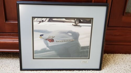 1968 Plymouth Road Runner Muscle Car Custom Framed Picture