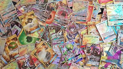 50 Pokemon Karten Sammlung! Komplett DE! Chance auf EXTREM SELTENE KARTEN! GX EX