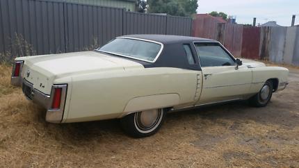 1972 Cadillac Eldorado 2 Door Coupe