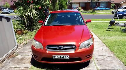 2004 Subaru Liberty Sedan Greystanes Parramatta Area Preview